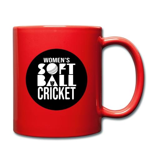 Womens Softball Cricket - Enfärgad mugg
