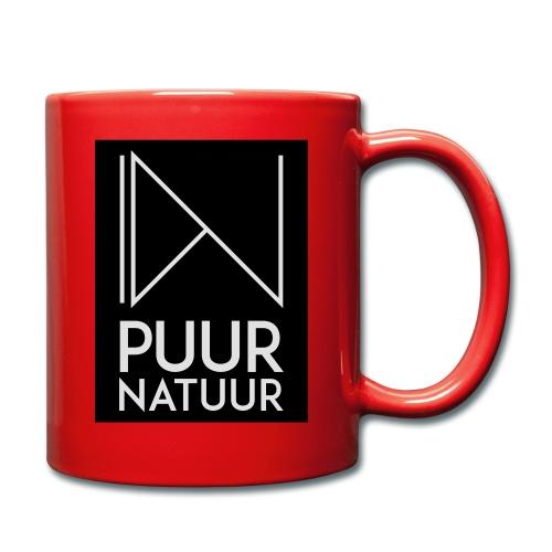 Logo puur natuur negatief - Mok uni