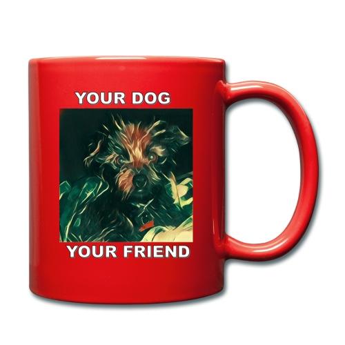 Si amas tu perro seguro amaras Esta Linea - Full Colour Mug