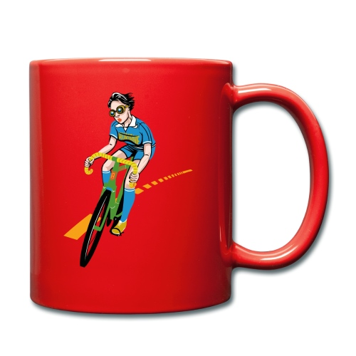 The Bicycle Girl - Tasse einfarbig