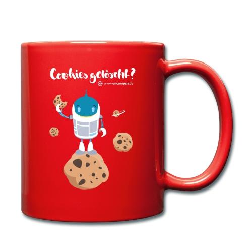 Cookies gelöscht - Tasse einfarbig