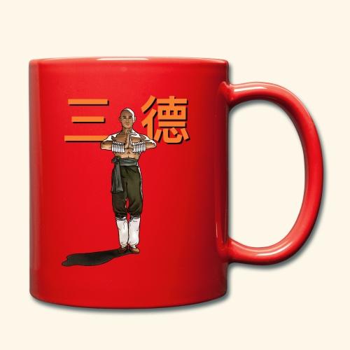 Gordon Liu - San Te - Monk (officiel) 9 prikker - Ensfarvet krus