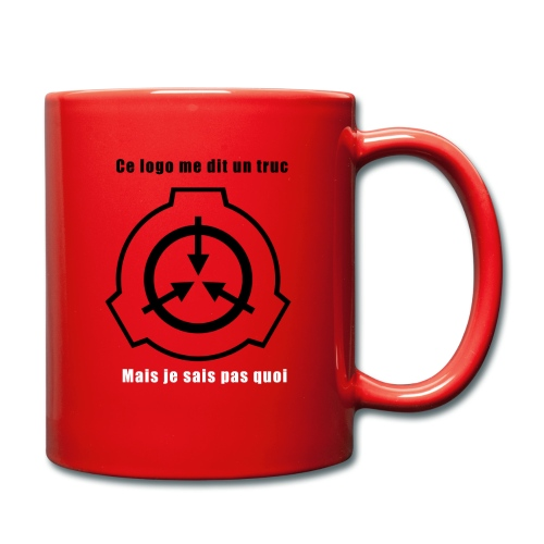 Mug SCP Ce Logo me dit un truc - Mug uni
