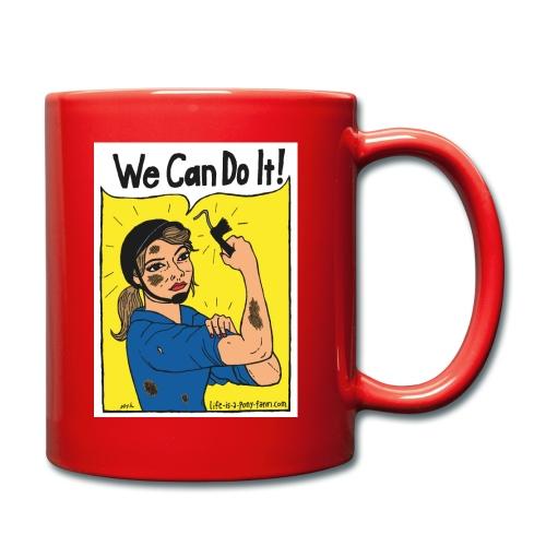 We Can Do It! - Yksivärinen muki