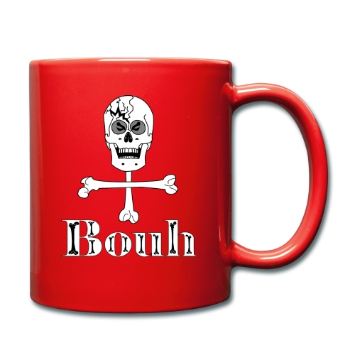 Crâne et croix d'os … Halloween fais moi peur FS - Mug uni
