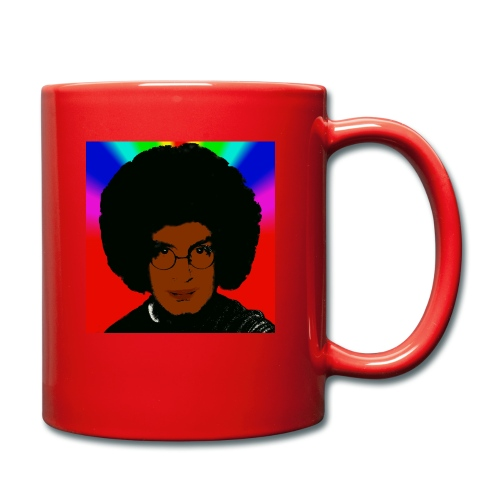 afro1 - Tasse einfarbig