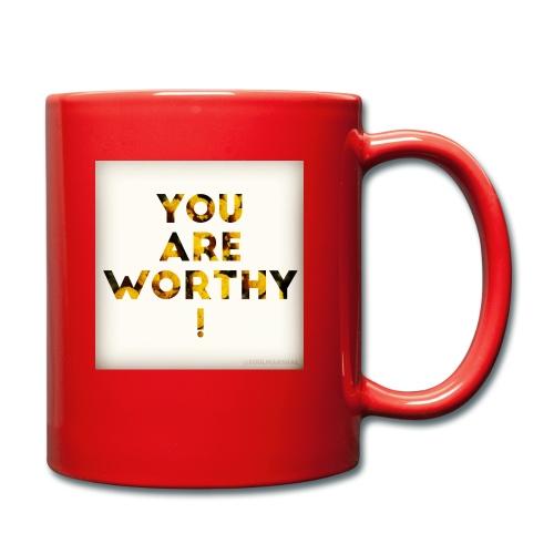 You Are Worthy - Yksivärinen muki