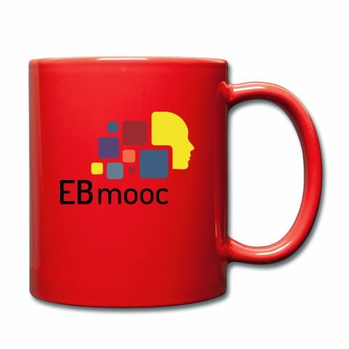 EBmooc Logo - Tasse einfarbig