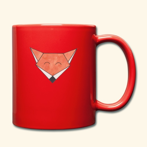 Foxy - Ensfarvet krus