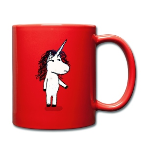 Angry unicorn - Full Colour Mug