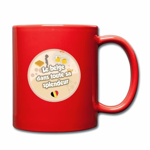 logo Le belge - Mug uni