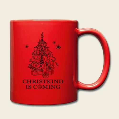 Christkind kommt - Tasse einfarbig