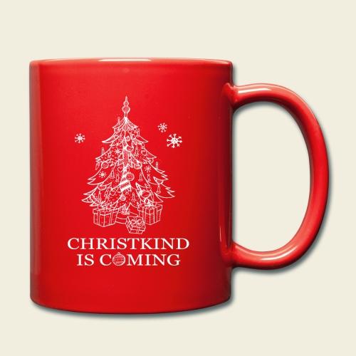 Christkind neu weiss - Tasse einfarbig