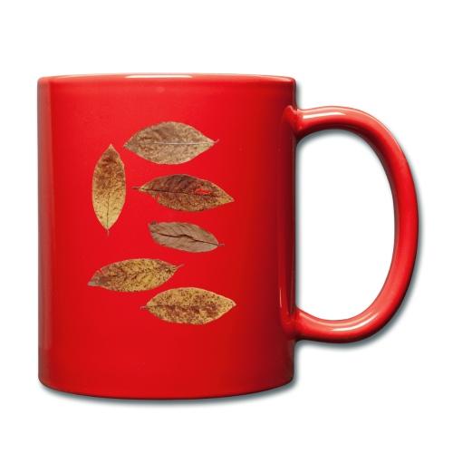 Bunte Blätter - Tasse einfarbig
