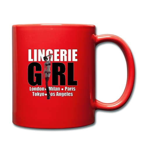 The Fashionable Woman - Lingerie Girl - Full Colour Mug
