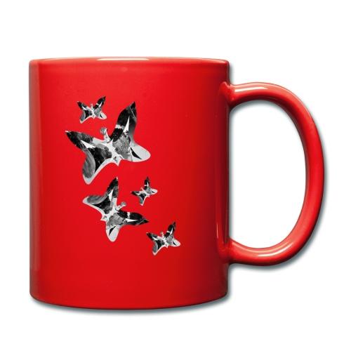 Schmetterlinge - Tasse einfarbig