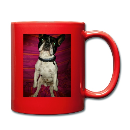Bulldog francés Sit - Taza de un color