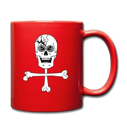 Crâne et croix d'os …Halloween fais moi peur FS FC - Mug uni