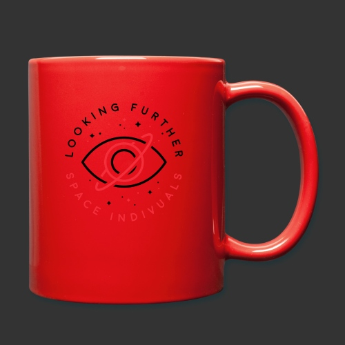 Space Individuals - Looking Further White - Full Colour Mug