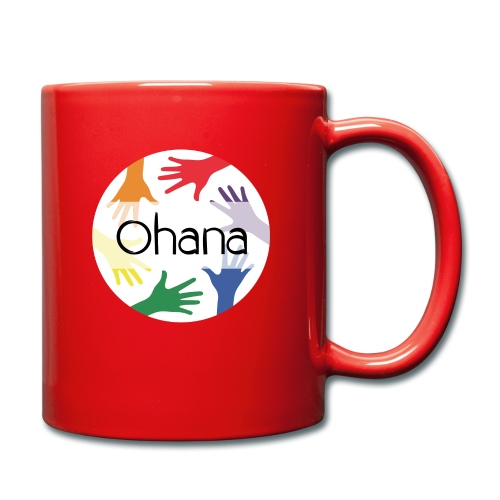 Ohana heißt Familie - Tasse einfarbig