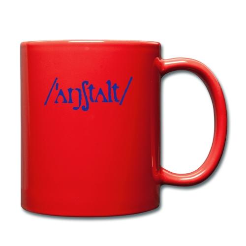 /'angstalt/ logo - Tasse einfarbig