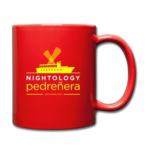 Nightology Pedreñera (colores oscuros) - Taza de un color