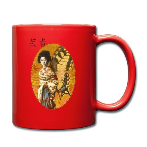 Vintage Japanese Geisha Oriental Design - Full Colour Mug