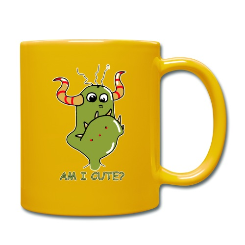 Cute monster - Full Colour Mug