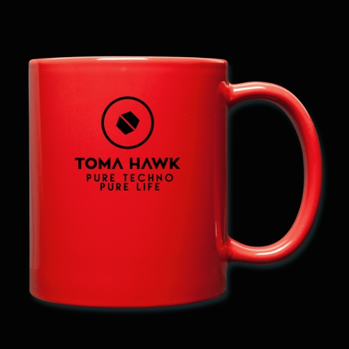 Toma Hawk - Pure Techno - Pure Life Black - Tasse einfarbig