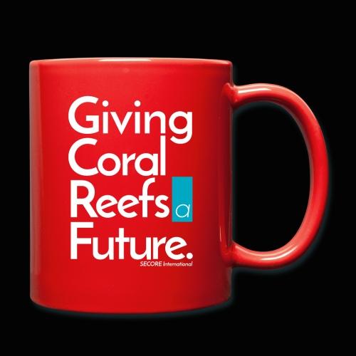 Giving Coral Reefs a Future - Full Colour Mug