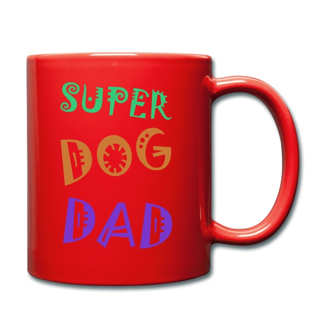 Super dog dad