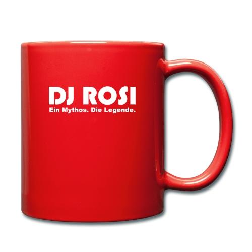 DJ ROSI - Ein Mythos. Die Legende. - Tasse einfarbig