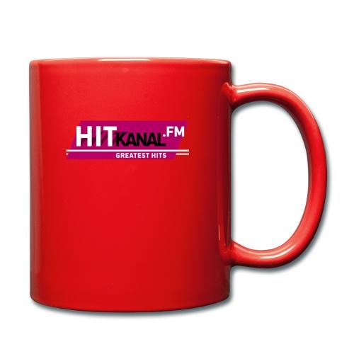 LogoHitKanal k - Tasse einfarbig