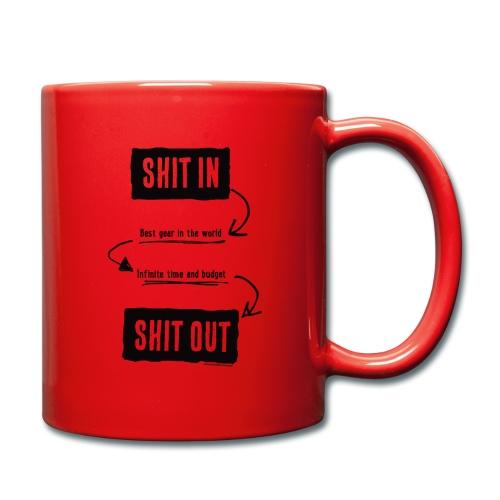 shitinshitoutblack - Mug uni