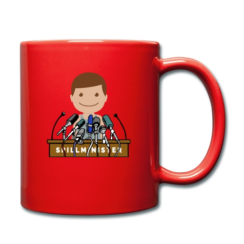 Spillminister logoen - Ensfarget kopp