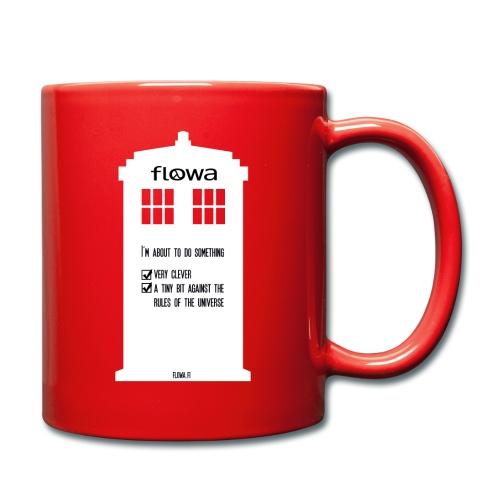 Flowa - Yksivärinen muki