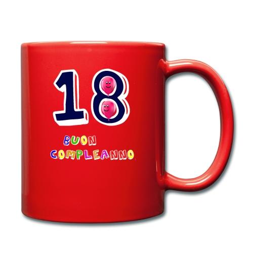 18 BUON compleanno - Tazza monocolore
