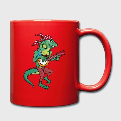 Tzigane iguane avec Banjo - Mug uni