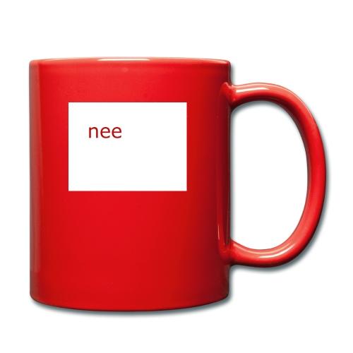 nee t-shirts - Mok uni