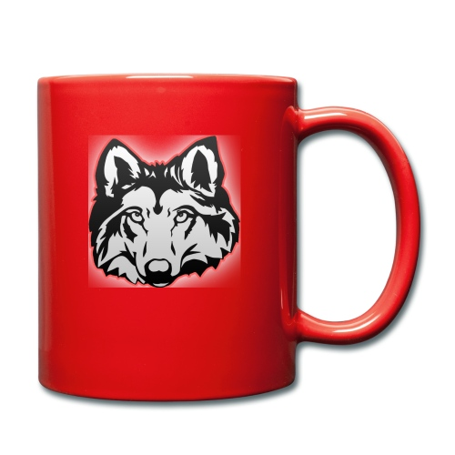Wolfie (Red) - Full Colour Mug