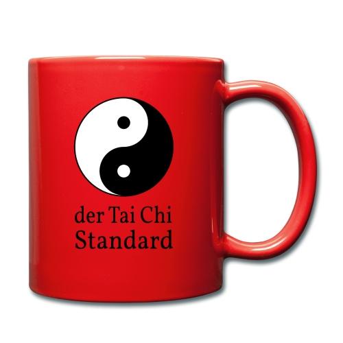 der Tai Chi Standard - Tasse einfarbig