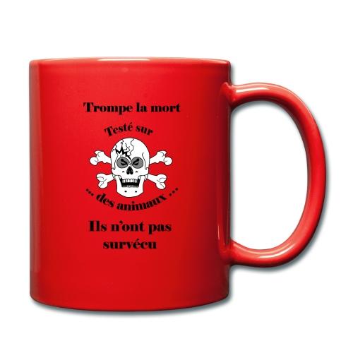 Trompe la mort «méchant» Test animal FC - Mug uni