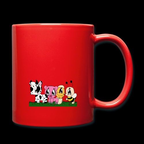 cute animals - Tasse einfarbig