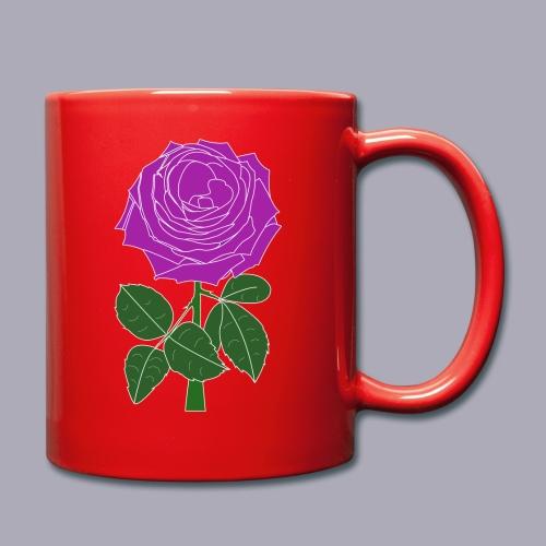 Landryn Design - Pink rose - Full Colour Mug