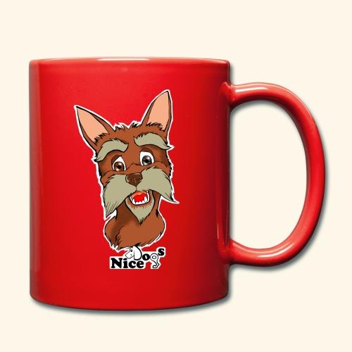 Nice Dogs schnauzer 2 - Tazza monocolore