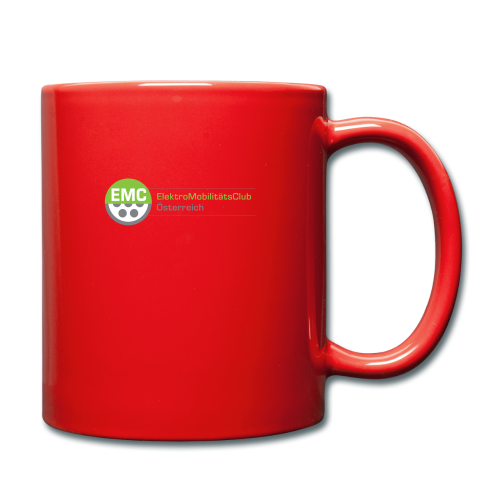 ElektroMobilitätsClub Logo - Tasse einfarbig