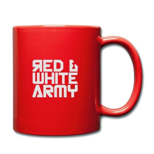 Red & White Army - Full Colour Mug