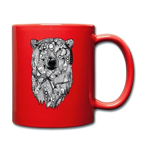 Isbjørn - Ensfarget kopp
