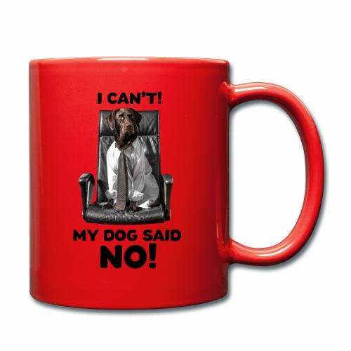 Labrador Boss Hundespruch Labbi - Tasse einfarbig