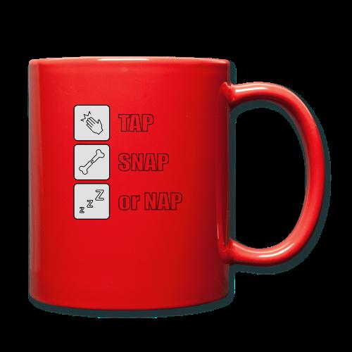 tap snap or nap - Kubek jednokolorowy